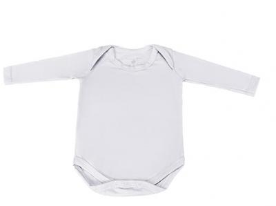 Body botão no ombro manga longa batistela baby beanco - lojas americanas
