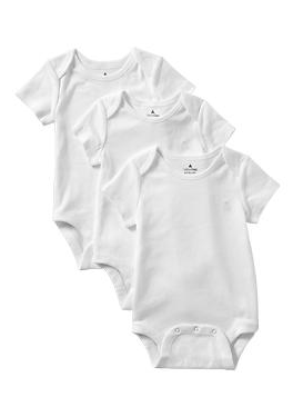 Favorite short-sleeve bodysuit (3-pack) - Gap