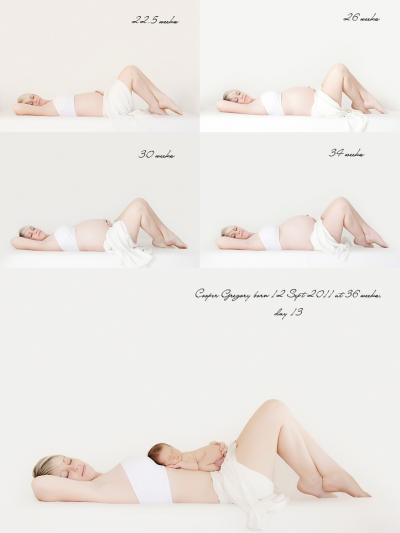 gravidez mes a mes  400x533 Idéias de fotos para registrar sua gravidez