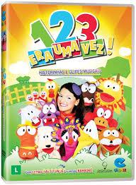 DVD CRIANCA 1 2 3 era uma vez