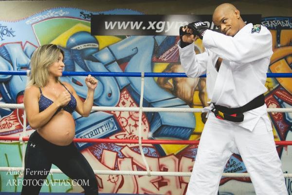 ensaio gravida diferente 12
