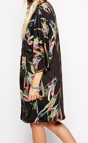 kimono asos preto