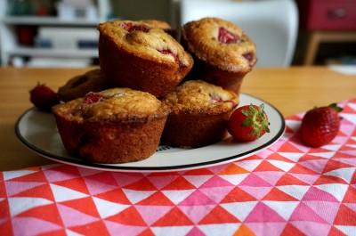 muffin-morango-