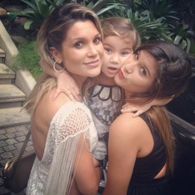 flavia alessandra gravida filhas 3