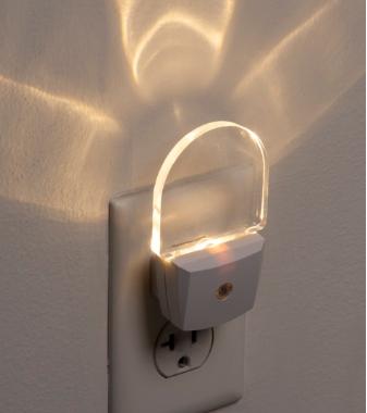 Luz Noturna com Sensor Automático