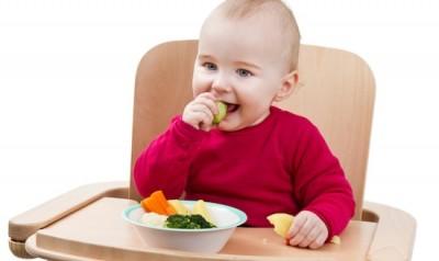 blw bebe comendo sozinho