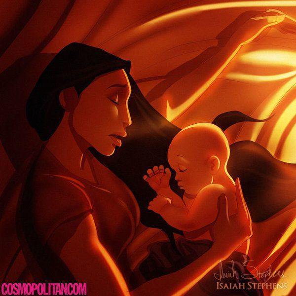 princesa disney gravida_2