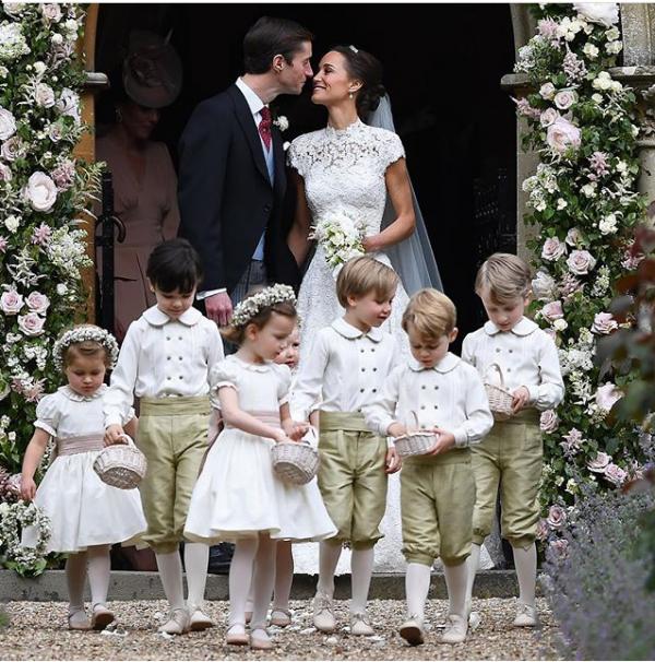 casamento pippa principe george charlotte5
