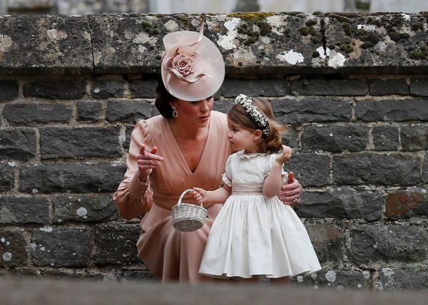 charlotte casamento daminha pajem princesa kate