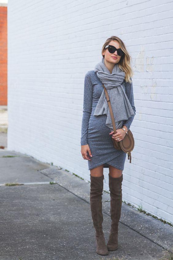gravida estilo inverno look1