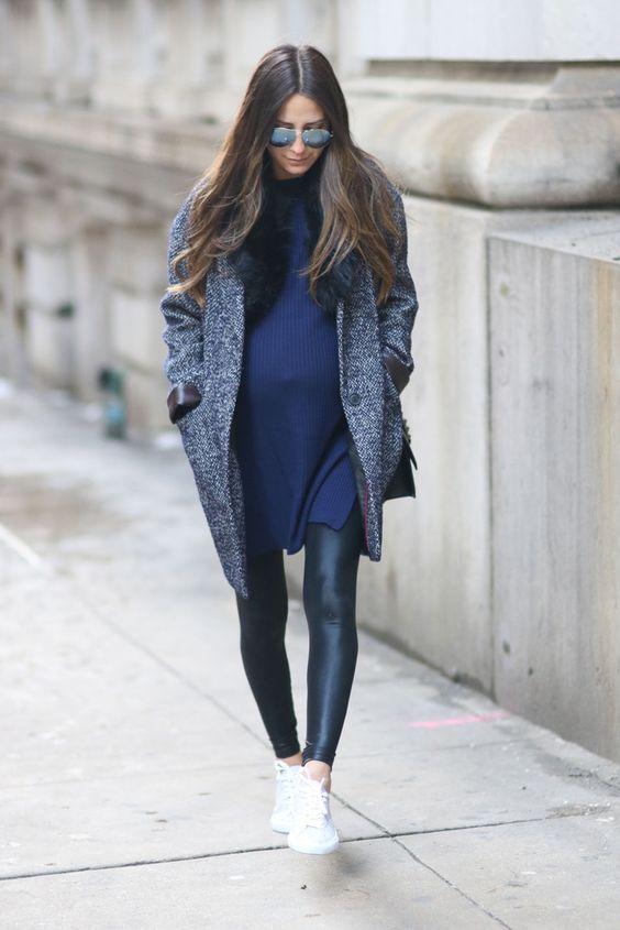 gravida estilo inverno look11