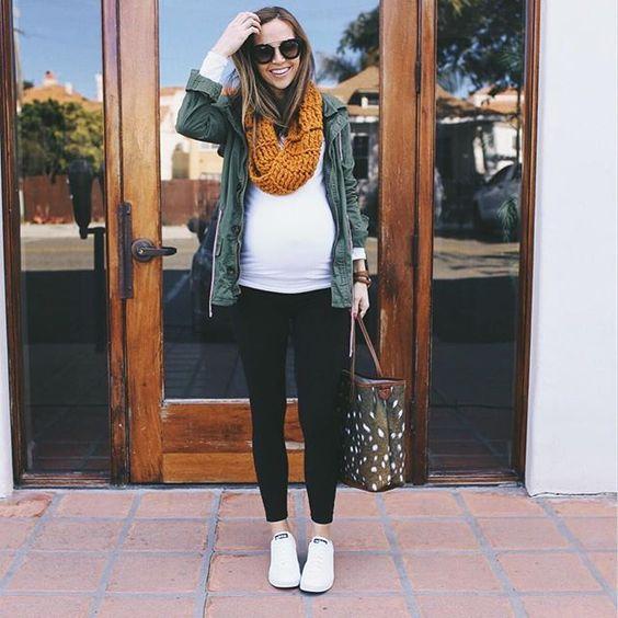 gravida estilo inverno look7