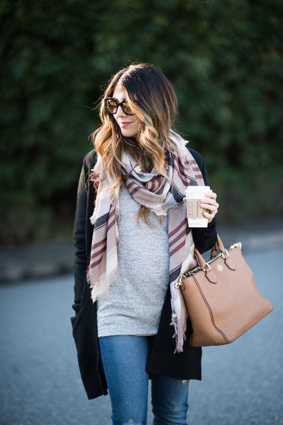 gravida estilo inverno look8